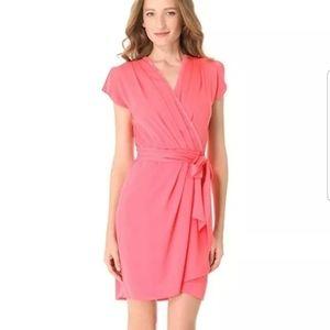 NWT Diane Von Furstenberg Mateo 8 Silk Wrap Dress